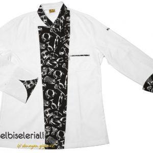 Aşçı Ceketi Çatal-Bıçak