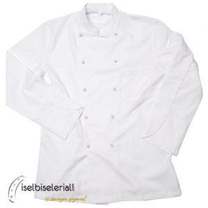 Aşçı Ceketi - Sade Beyaz