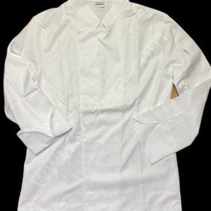 Beyaz Gabardin Aşçı Ceketi