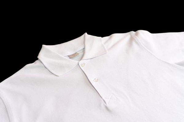 Beyaz Polo Yaka Tshirt 1. Kalite