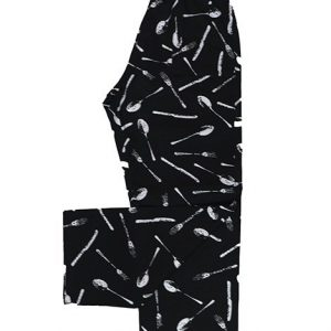 Desenli Aşçı Pantalonu