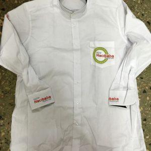 Garson Gömleği Nakışlı