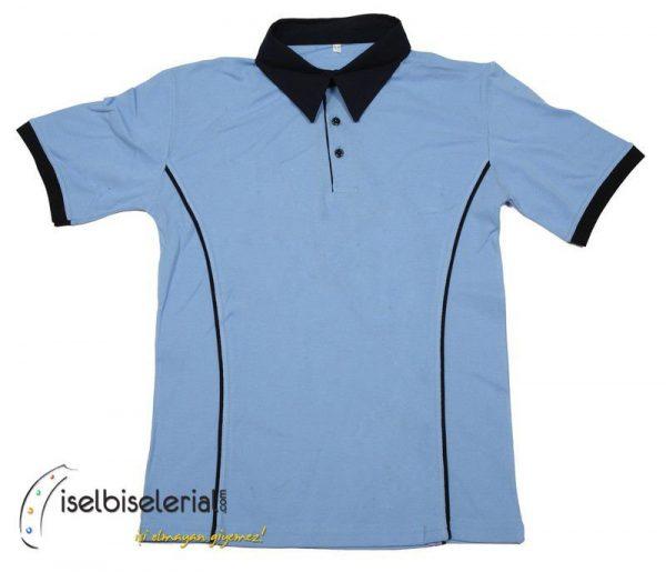 Gömlek yaka, Çizgili T-shirt