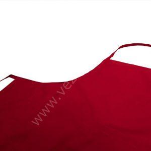 Kırmızı Cepli Askılı Önlük