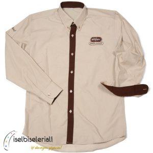 Pastane Gömleği Nakışlı
