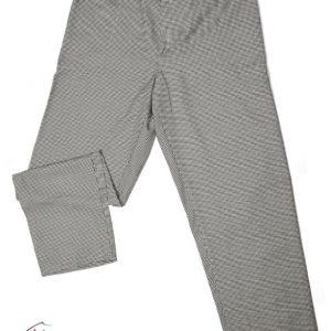 Pitikareli Kemerli & Lastikli Aşçı Pantalonu