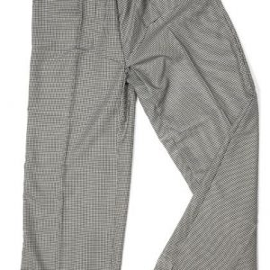 Pitikareli Lastikli Aşçı Pantalonu